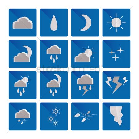 Background : Weather icons