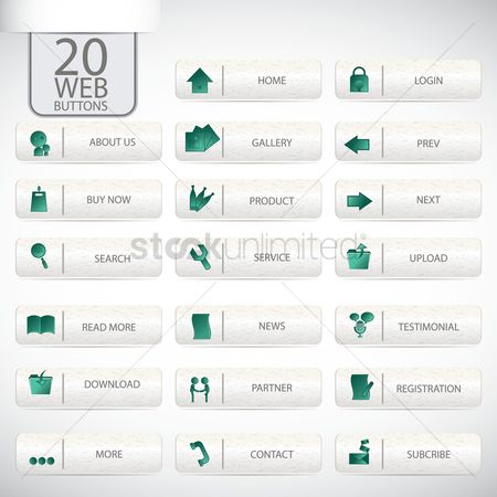 Products : Web buttons set