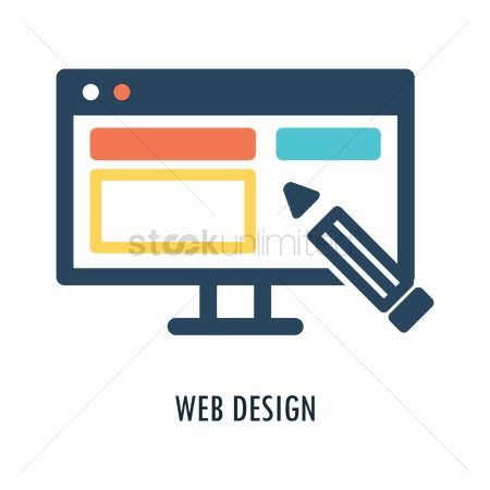 Business strategy : Web design concept
