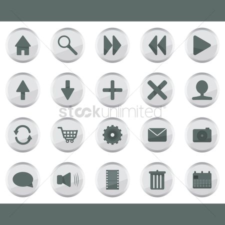 Comment : Web interface icons