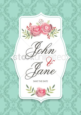 Weddings : Wedding card design