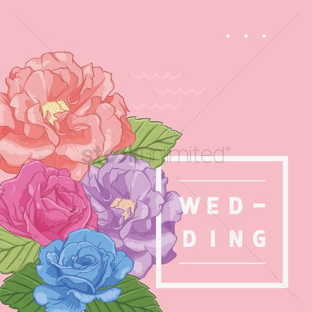 Weddings : Wedding card