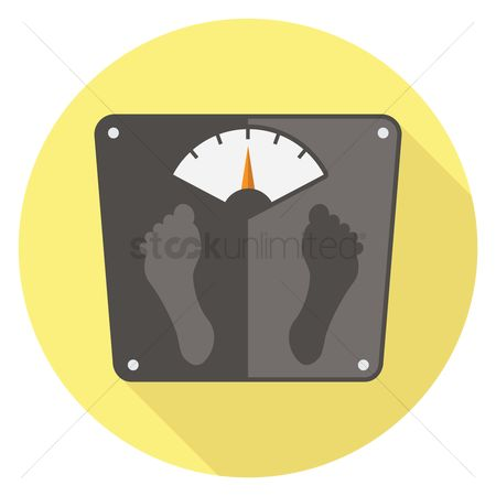 Health : Weighing scale