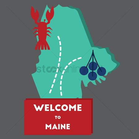Blueberry : Welcome to maine state