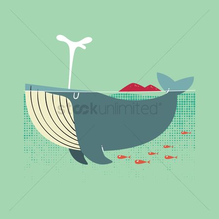 Mountains : Whale