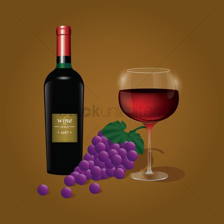 Red wine : Wine elements