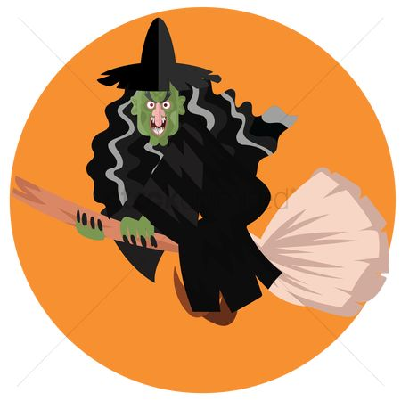 Brooms : Witch flying