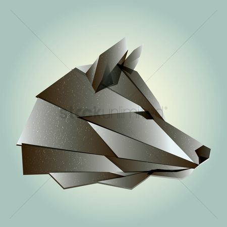 Faceted : Wolf