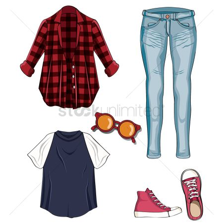 Footwears : Woman s outfit and accessory