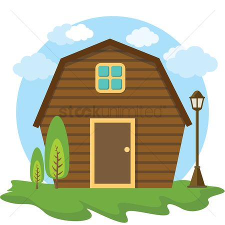 Logs : Wooden house