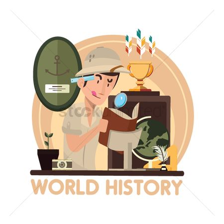 Stories : World history concept