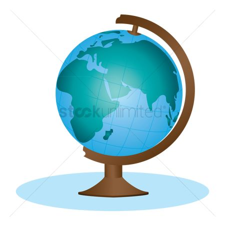 Earth  graphic vector : World map and globe
