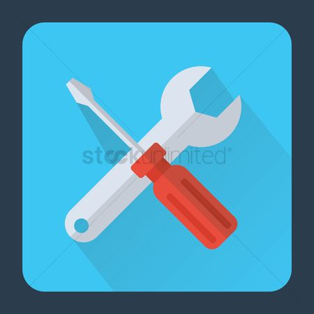 Minus : Wrench and screwdriver