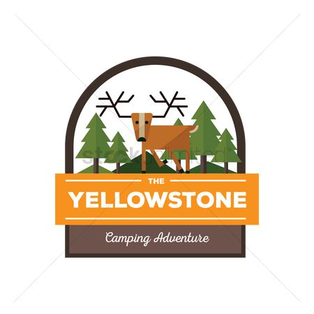 Camp : Yellowstone label