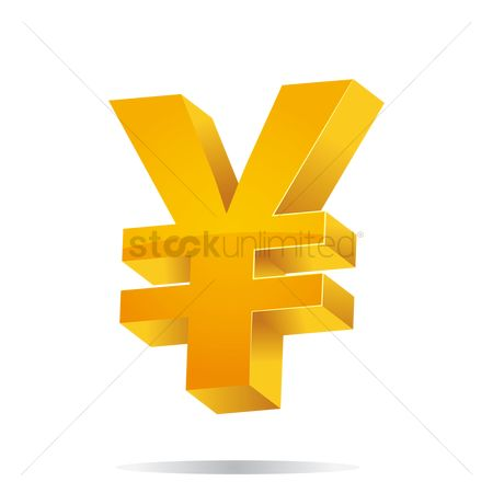 Free Yen Currency Symbol Stock Vectors Stockunlimited