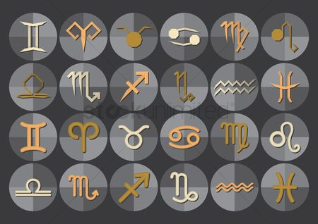 Horoscopes : Zodiac symbols
