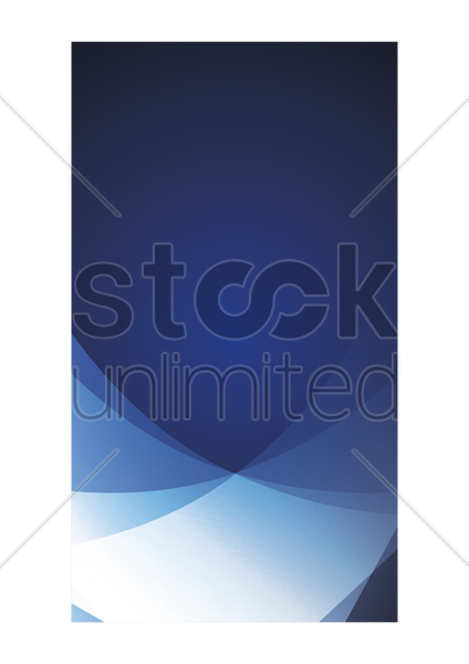 abstract mobile application interface vector graphic