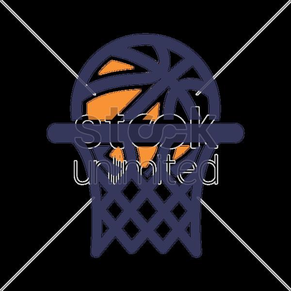 basketball hoop icon vector image 1984920 stockunlimited