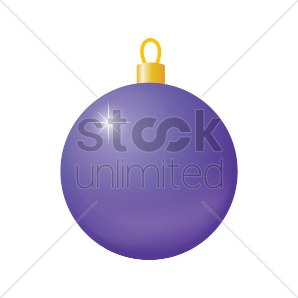 bauble vector graphic