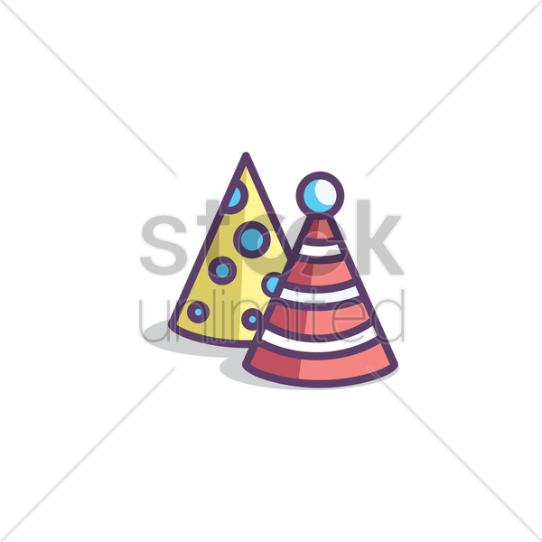birthday hat vector image 1973296 stockunlimited rh stockunlimited com birthday hat vector image birthday party hat vector