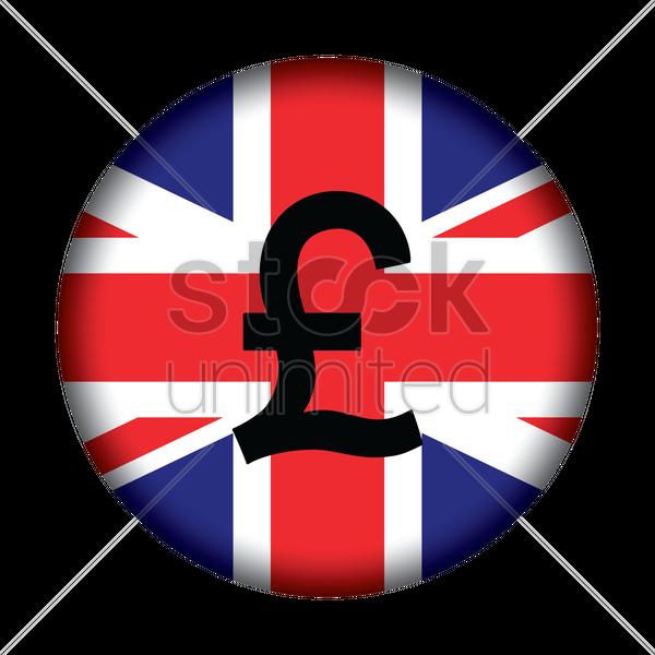 British Pound Vector Image 1576644 Stockunlimited