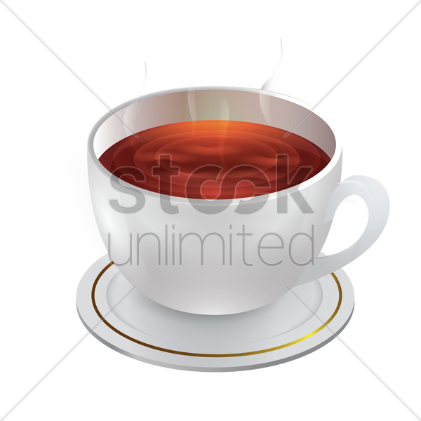 coffee cup vector graphic
