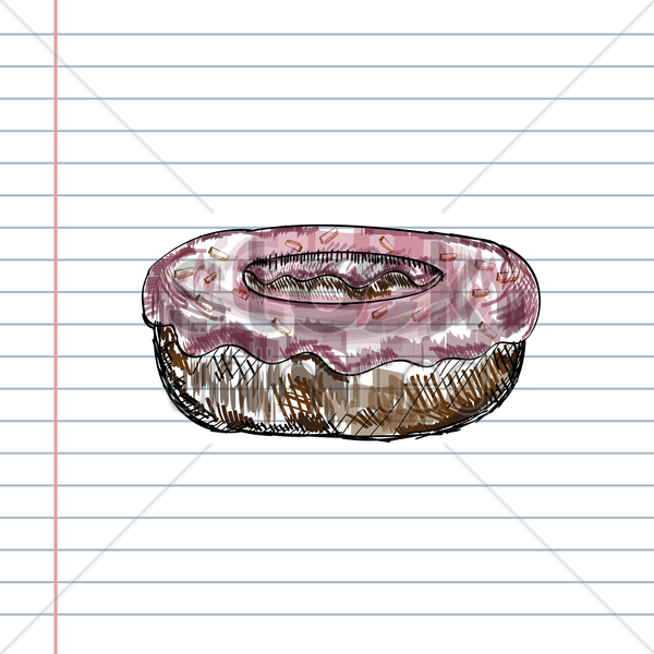 donut vector graphic