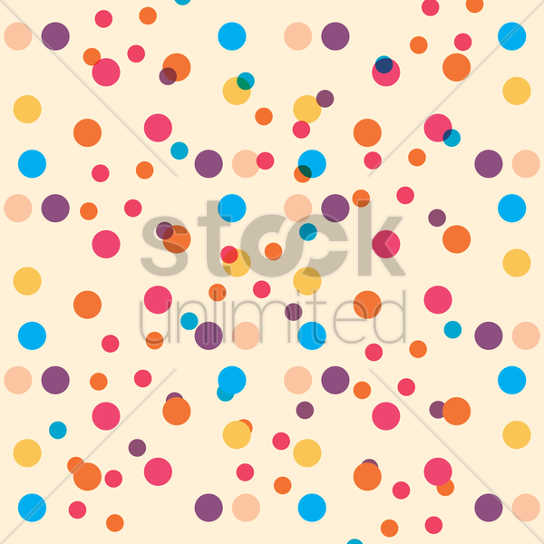dot design background vector graphic