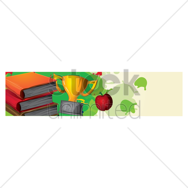 Education Banner Vector Image 1632960 Stockunlimited