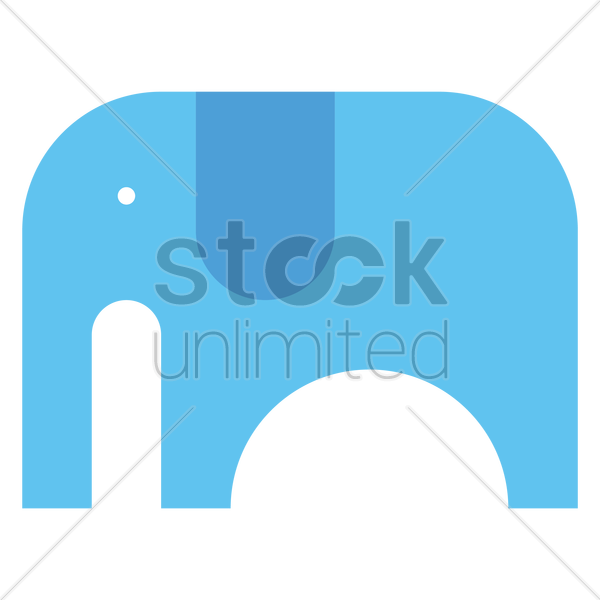 elephant vector graphic