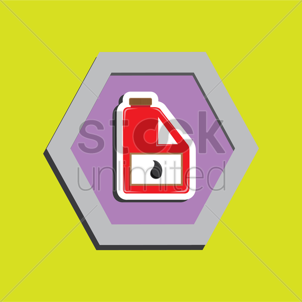 Engine Oil Vector Image 1388772 Stockunlimited
