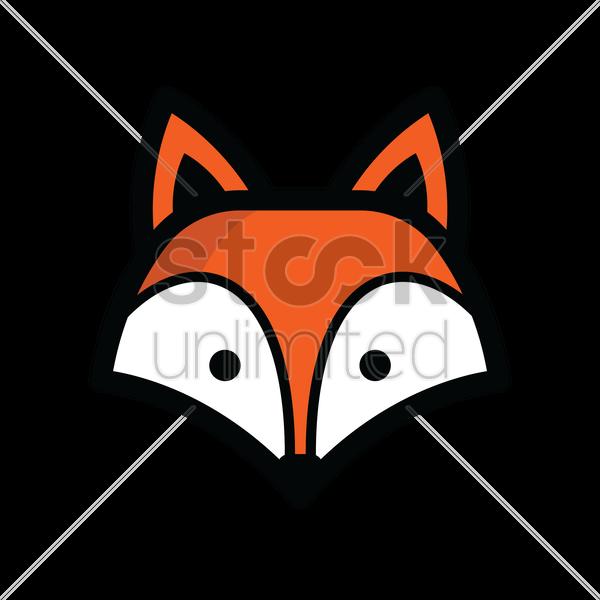 Aninimal Book: Fox head Vector Image - 1821324 | StockUnlimited