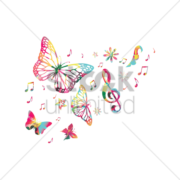 Music Background Design Vector Image 1968084 Stockunlimited