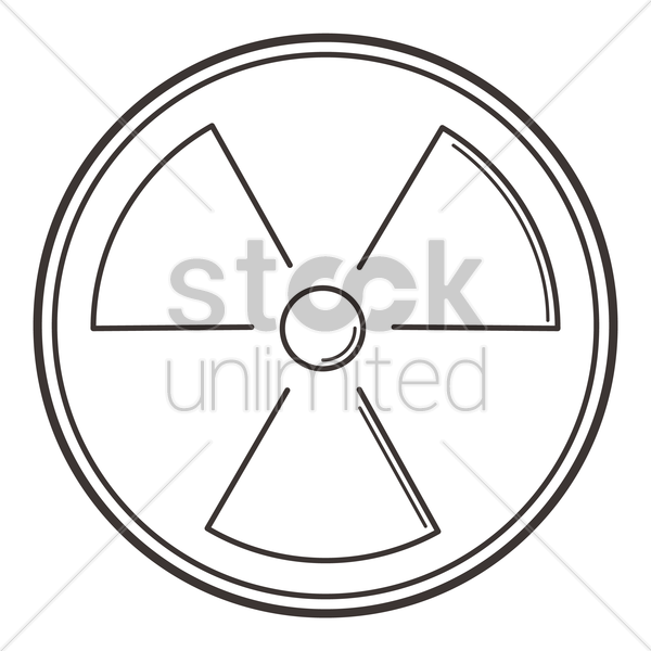 Radioactive Symbol Vector Image 2010436 Stockunlimited