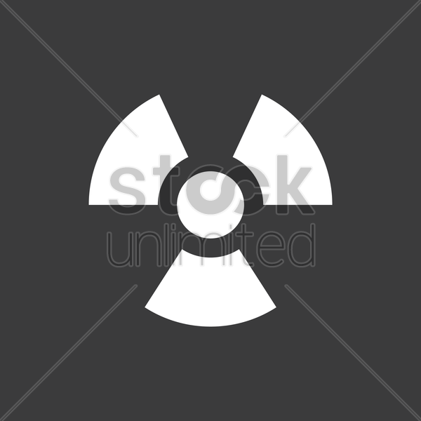 Radioactive Symbol Vector Image 2029548 Stockunlimited