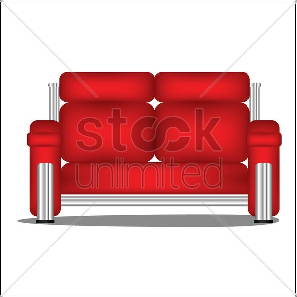 Sofa Vector Image 1377208 Stockunlimited