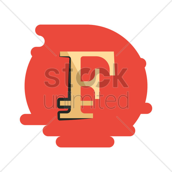 Swiss Franc Currency Symbol Vector Image 2034036 Stockunlimited
