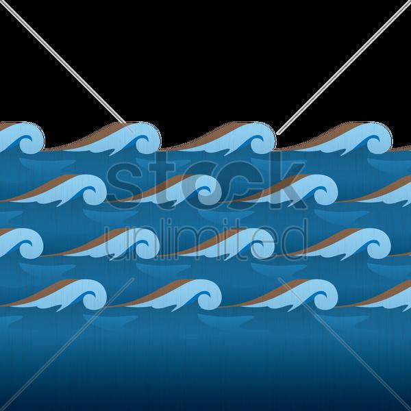 Water Wave Vector Png