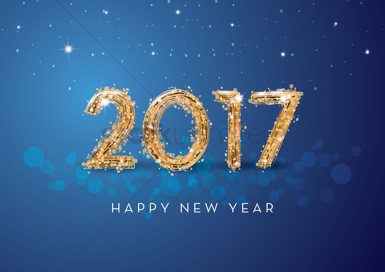 2017 happy new year greeting vector image 1940324 stockunlimited 2017 happy new year greeting vector graphic m4hsunfo