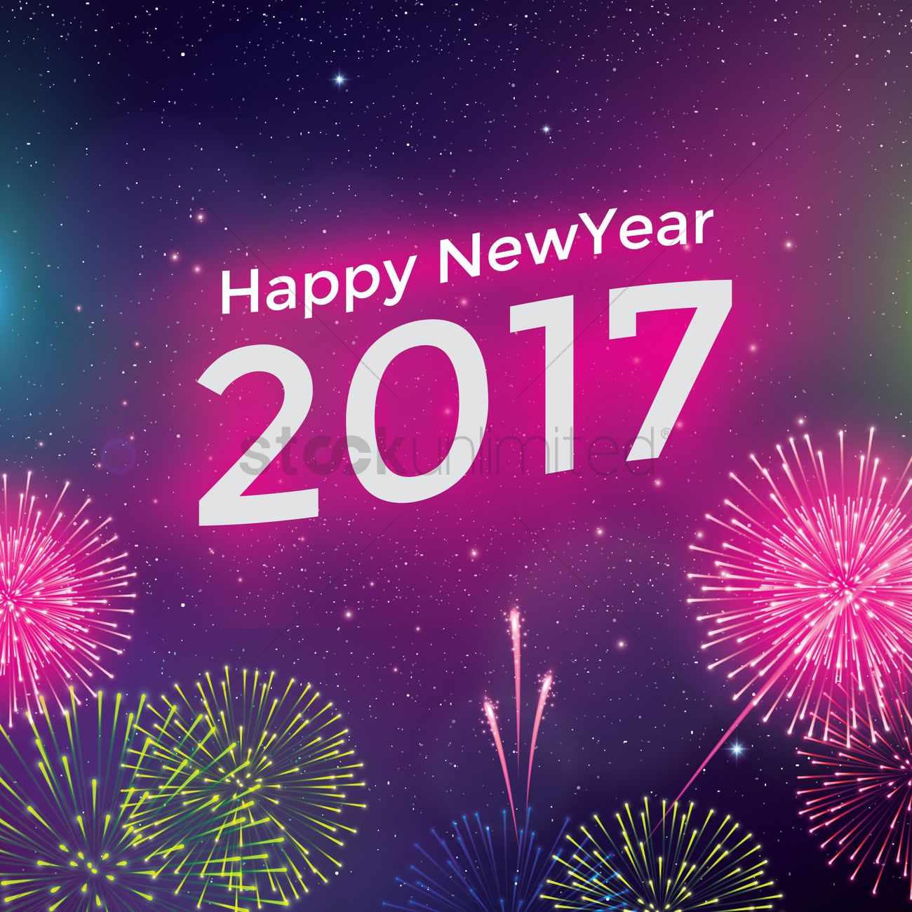 2017 new year greeting vector image 1940088 stockunlimited 2017 new year greeting vector graphic m4hsunfo