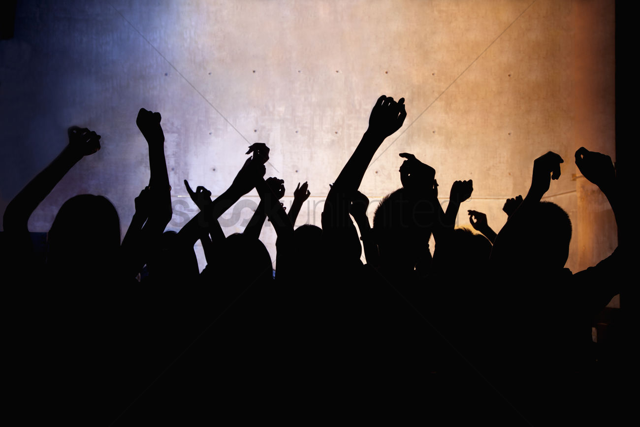 A Crowd Of Young People Dancing In A Nightclub Stock Photo 2093452 Stockunlimited