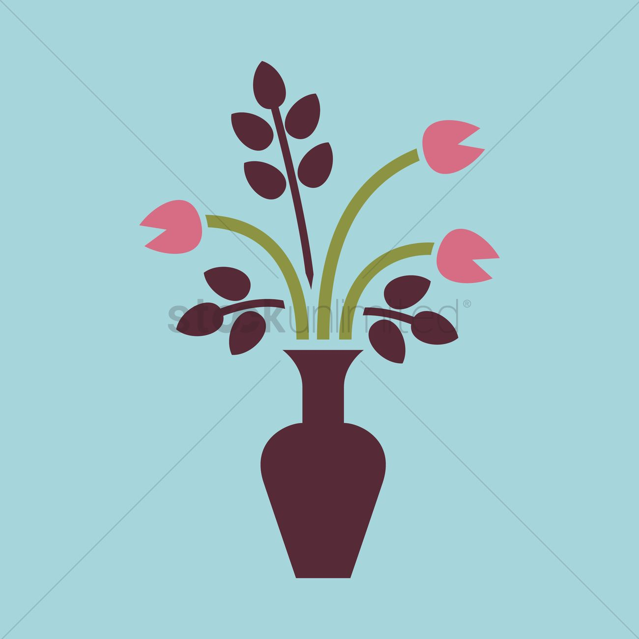 A flower vase Vector Image - 1293676 | StockUnlimited on books vector, basket vector, art vector, box vector, decor vector, candle vector, animals vector, roses vector, floral vector, pottery vector, mirror vector, beer mug vector, teapot vector,