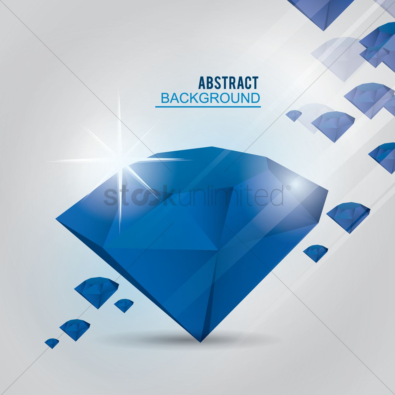 Abstract diamond background Vector Image - 1331148 | StockUnlimited