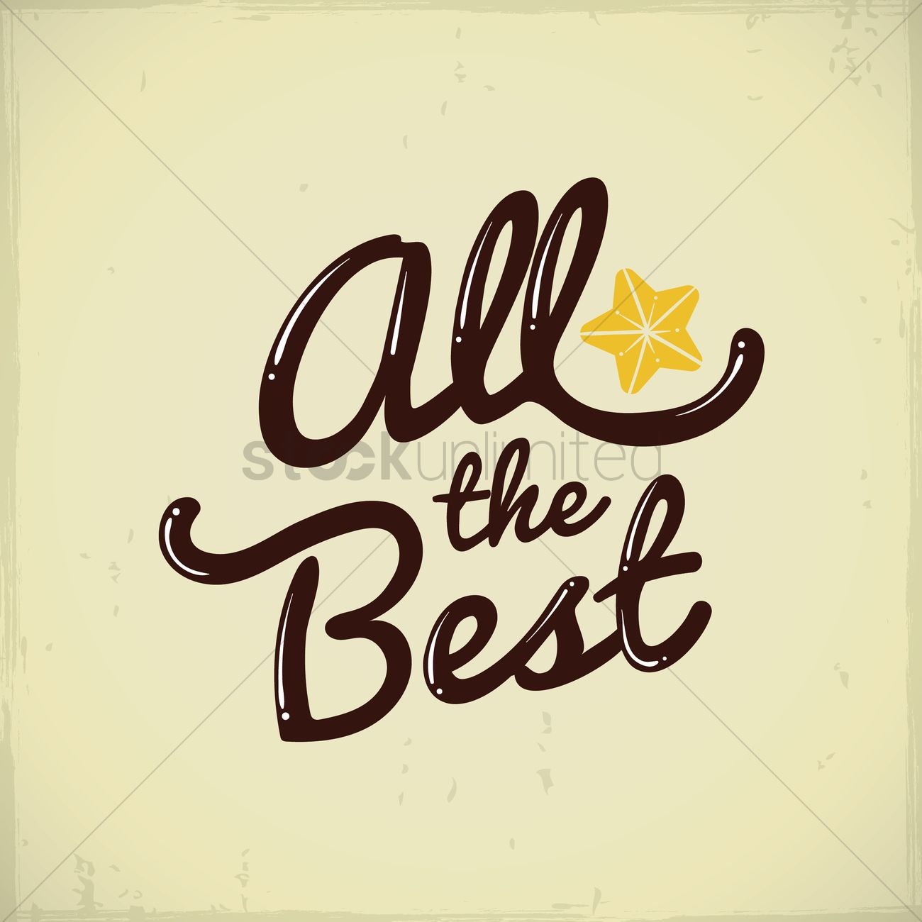 All the best greeting vector image 1811332 stockunlimited all the best greeting vector graphic kristyandbryce Image collections
