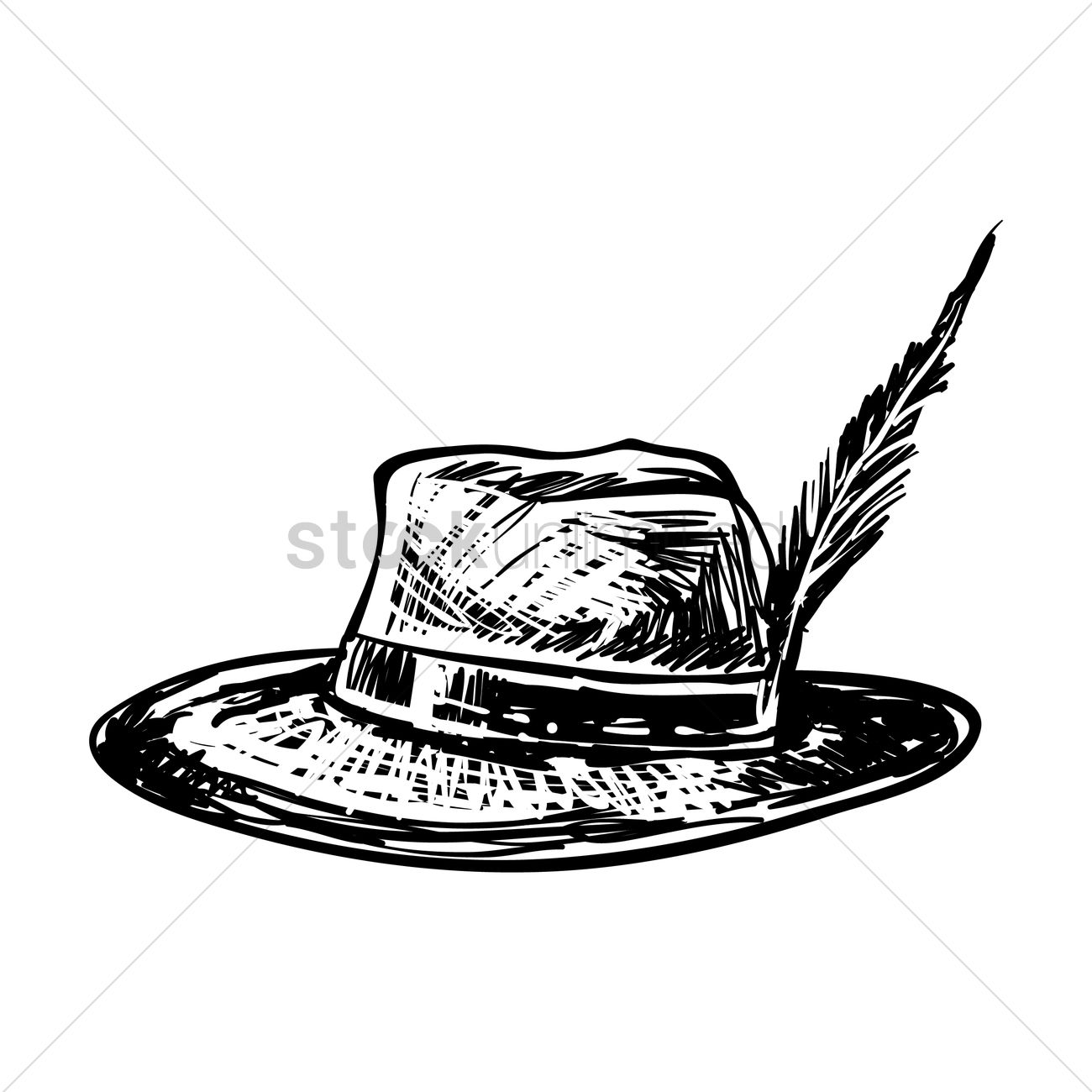 Alpine hat Vector Image - 1977004 | StockUnlimited