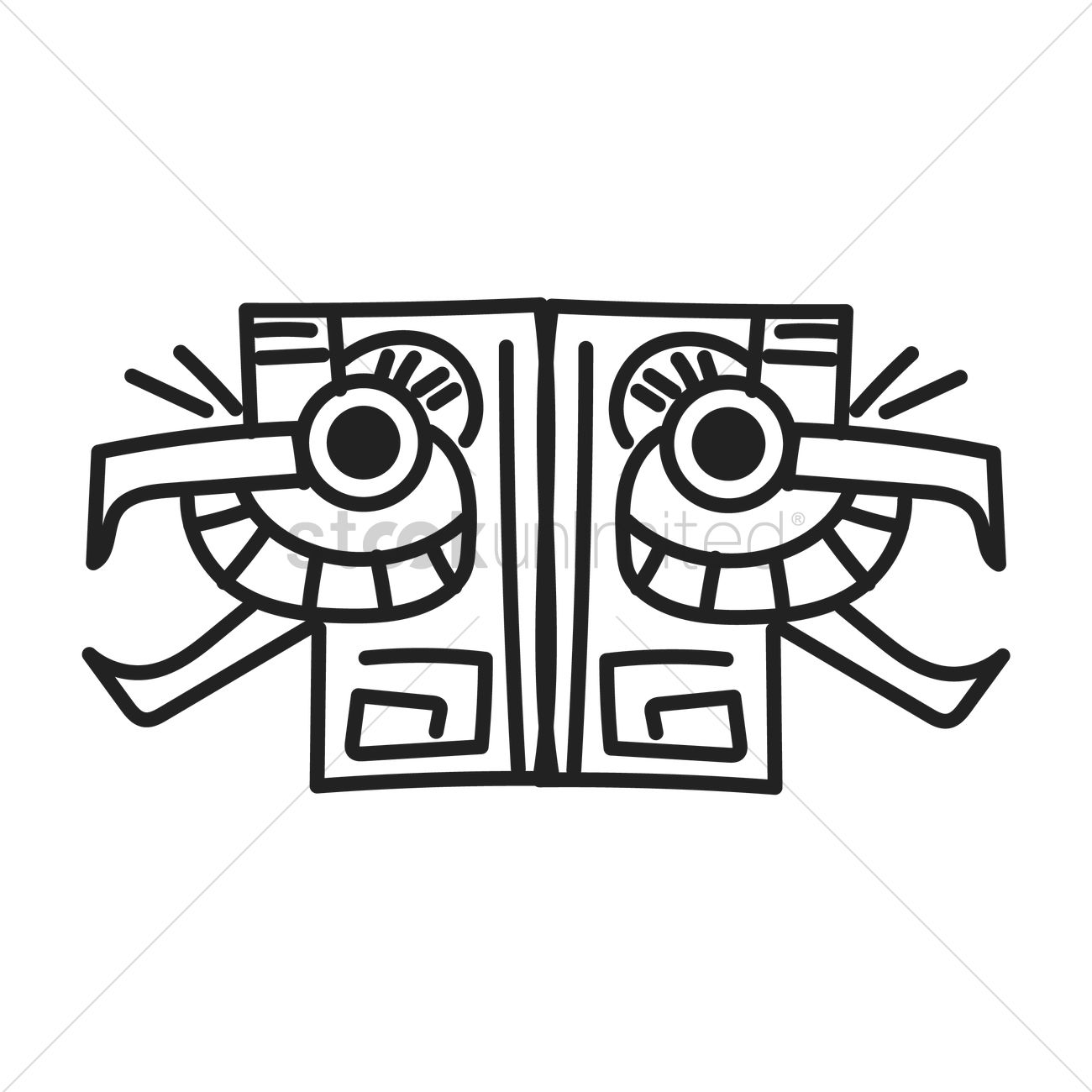 Ancient Mexican Motif Vector Image 1621752 Stockunlimited