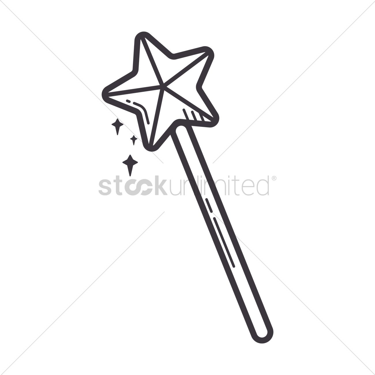 Free Angel magic wand Vector Image - 1533152 | StockUnlimited