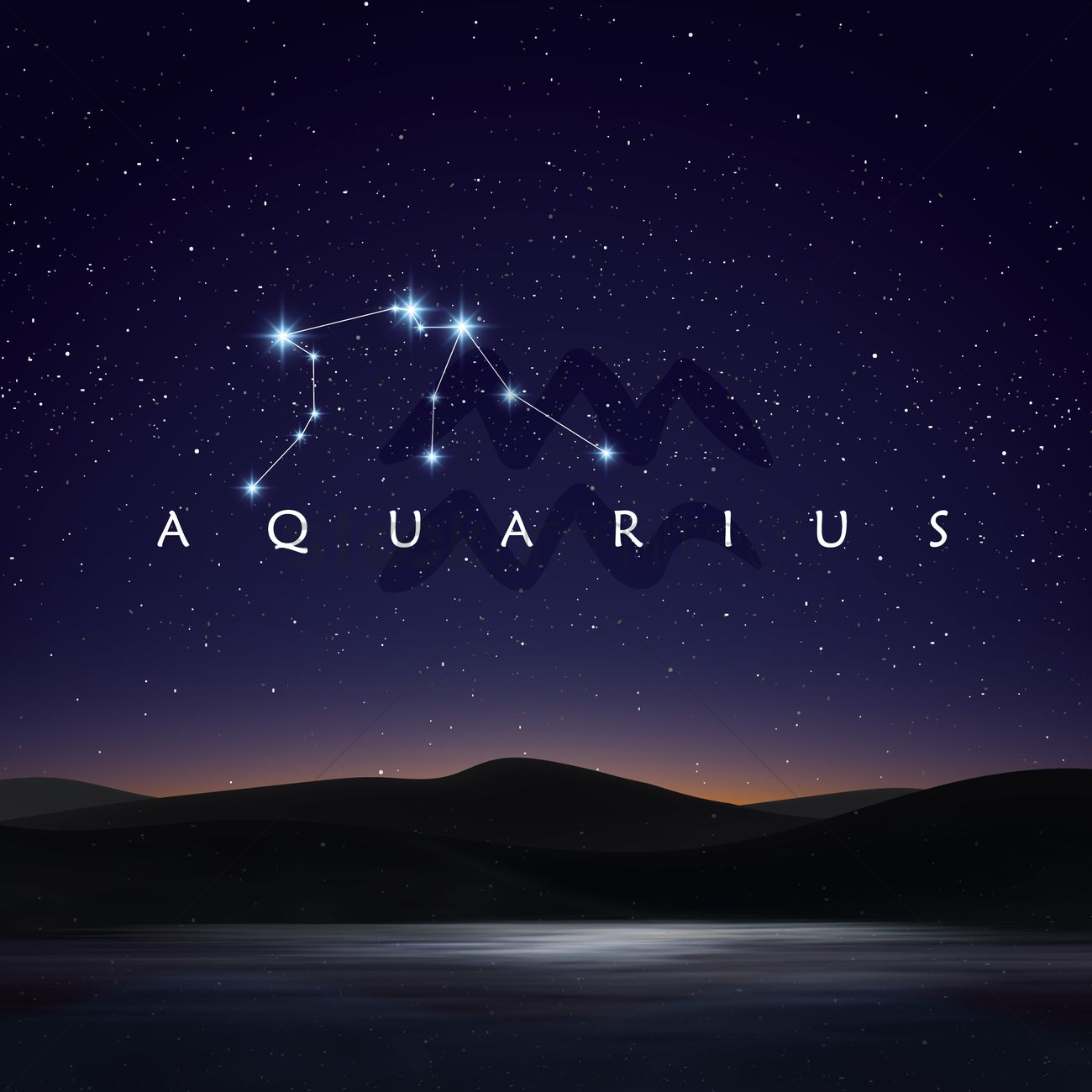 Image result for aquarius constellation