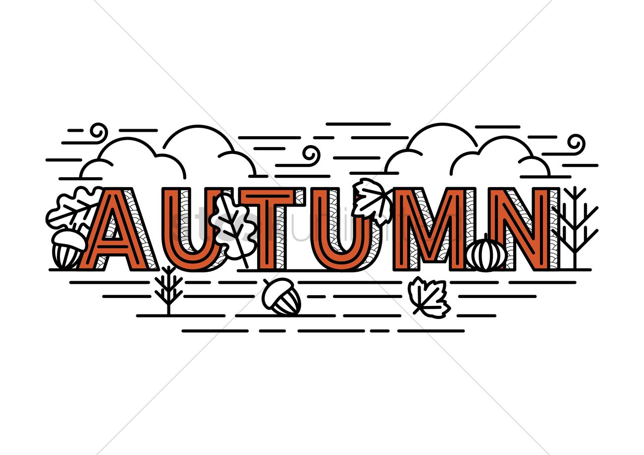 Image result for autumn term lettering