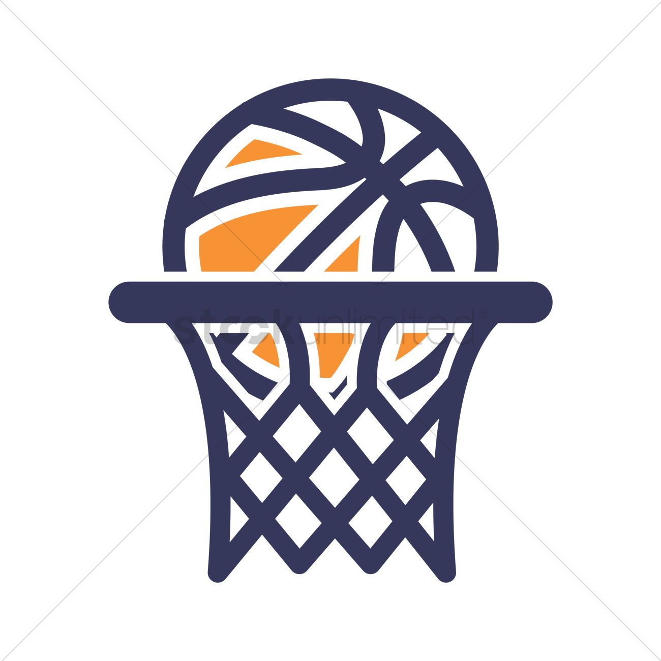 Basketball Hoop Icon Vector Image 1984920 Stockunlimited